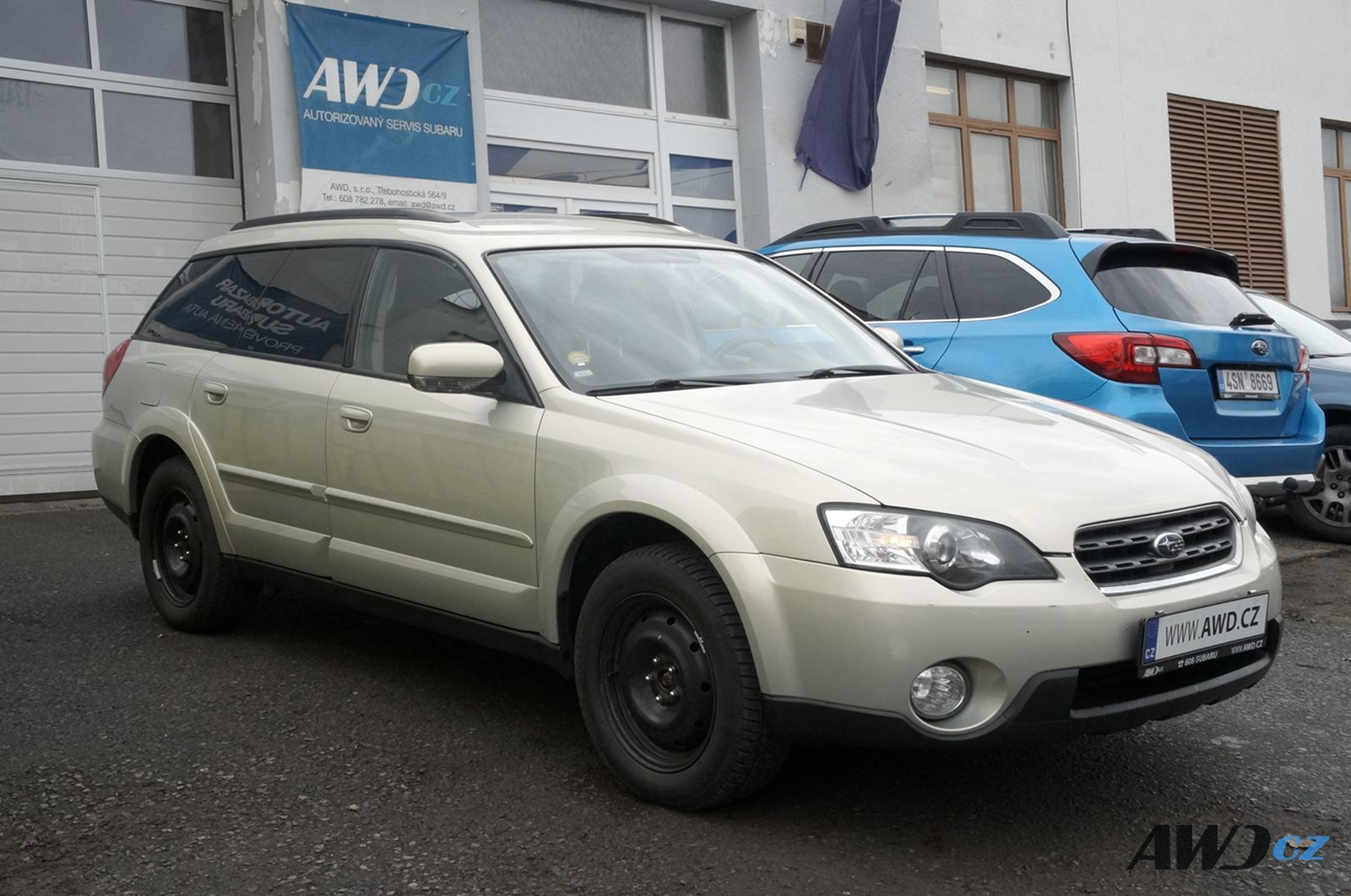 SUBARU Outback 2,5i Active AT MY2006, 149900Kč, 203000 km, 2006
